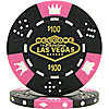 $100 Black Las Vegas Tri-Color 11.5g Poker Chip