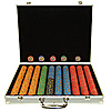 1000 10g Nevada Jacks Poker Chips w/Amuminum Case