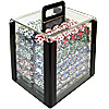 1000 pc. 4 Aces Poker Chip Set with Acrylic Carrier - 11.5g