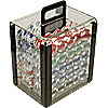 1000 pc LUCKY CROWN 11.5g Poker Chip Set in Acrylic Carrier