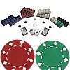 1000 SUITED 11.5 g Poker Chips Texas Hold em Set
