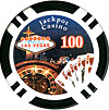 11.5G Jackpot Casino Clay Chips $100