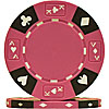 14 Gram Pink Tri-Color Ace King Suited Chip