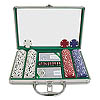200 Chip Texas Hold'Em Set w/Clear Cover Aluminum Case