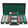 300 Chip Texas Hold'Em Set w/Deluxe Case