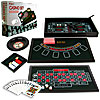 4 in 1 Casino Game Table Roulette, Craps, Poker, BlackJack