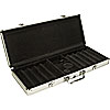 500 Capacity Aluminum Chip case - Black Interior