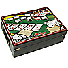 500 Chip Poker Case with Full Color High Quality Graphics