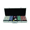 500 Chip Texas Hold'Em set w/ Aluminum Case