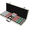 500 Dice Style 11.5g Poker Chip Set - Retail Ready!