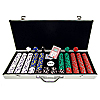 650 13 gm Pro Clay Casino Chips w/ Aluminum Case