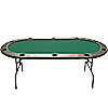 96 Inch Hold'em Table without Dealer Position