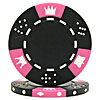 11.5 Gram BLACK Tri-Color Triple Crown Poker Chip
