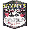 Customized Poker Signs