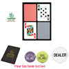Copag� Poker Size PLASTIC Playing Cards & Dealer Kit-Export Set