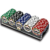 ESPN 100 Assorted 11.5g Championship Edition Poker Chips