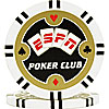 ESPN Poker Club Professional Poker Chip - White