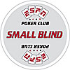 ESPN® Texas Hold'Em Poker Small Blind Button