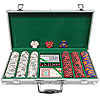 Fabulous Las Vegas 300 11.5g Poker Chip Set w/Aluminum Case