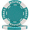 11.5g LIGHT BLUE Suit Holdem Poker Chip