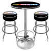 Official NASCAR® Stool & Table Set with 2 Chairs
