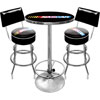 Official NASCAR® Game Room Table with 2 Matching Stools