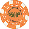 11.5 Gram ORANGE Landmark Casino Poker Chips