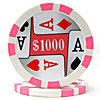 11.5g 4 Aces Poker Chip $1000