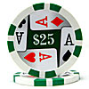4 Aces Poker Chips - 11.5 Grams