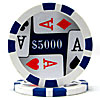 11.5g 4 Aces Poker Chip $5000