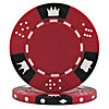 11.5 Gram RED Tri-Color Triple Crown Poker Chip