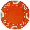 11.5g Royal Suited ORANGE Casino Chip