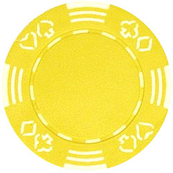 11.5g Royal Suited YELLOW Casino Chip