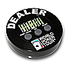 World Poker Tour Dealer Button with Built In Timer