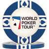 World Poker Tour™ 11.5g Blue Clay-Filled Poker Chip